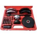 Presavimo įrankių komplektas išoriniam guoliui 72 mm Audi/VW rato stebulei
