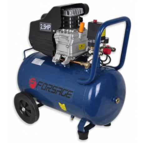 Oro kompresorius stūmoklinis 1 cilindro 50l 220V