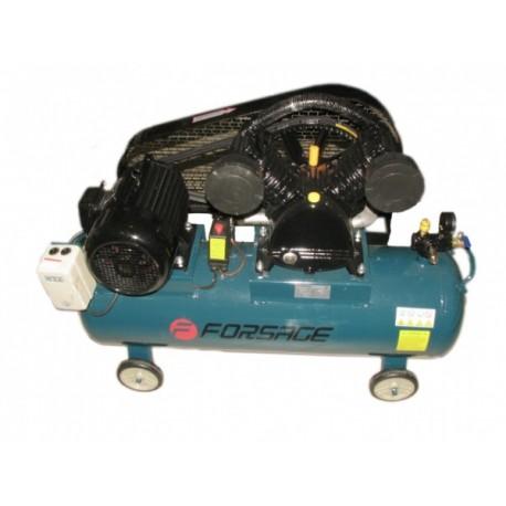 Oro kompresorius stūmoklinis 2 cilindrų 100l 380V