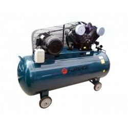 Oro kompresorius stūmoklinis, dvipakopis 4 cilindrų 500l 380V 7.5kW 1050l/min 760rpm 12.5bar
